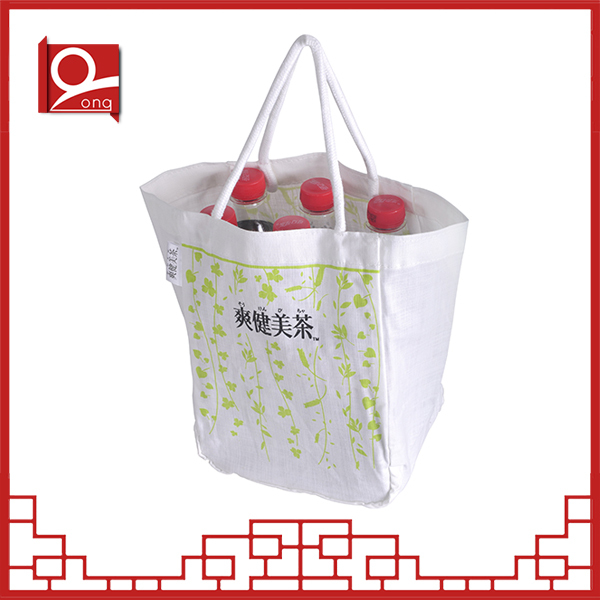 New design recyclable shopping cotton bag
