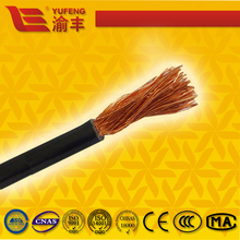 super flexible 100% pure copper conductor RUBBER or PVC sheath H01N2-D H01N2-E YH welding cable