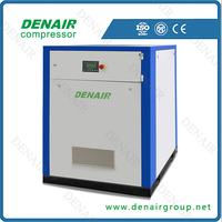 75 kw 100 hp belt driven air compressor