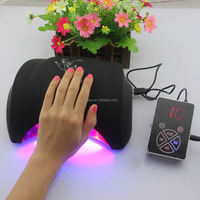 Honey Girl Use uv lamp 18w 36w 48w Watt LED Only Nail Lamp Curing Gel Polish uv lamp nail machine manicure for drying uv glue