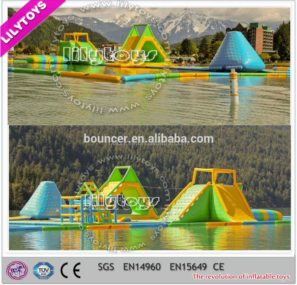Lake Inflatable Water Blob,Inflatable Sea Water Park,Jungle Gym ...