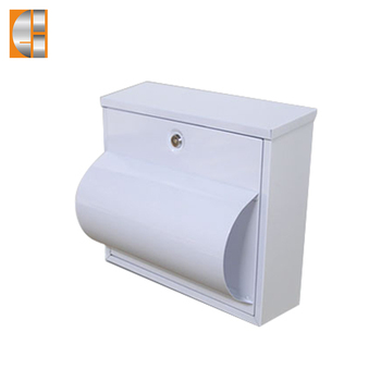 High quality stainless steel wall mounted mailbox