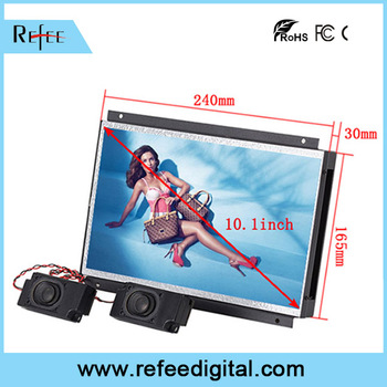 "Refee 15 inch open frame lcd monitor open frame lcd monitor 7"" 8"" 10.1"" 11.6"" 12.1"" 15.6"" 17"" 19"""