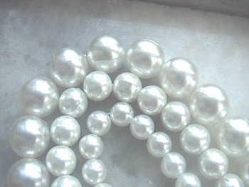Glass Pearl Beads (Lead Free)