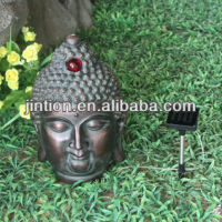 Polyresin Bronze Color Budda Head Statue