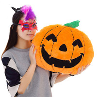 Proofing popular low-cost wholesale plush toys pumpkin Halloween decoration