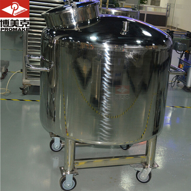 Sealed SUS316L GMP standard storage tank for chemical,food,medical perfume ,cosmetic industry