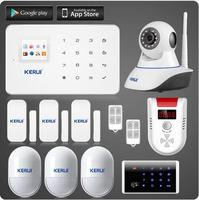 Wireless cellular GSM Home Security Alarm System with Auto dial KR-G18