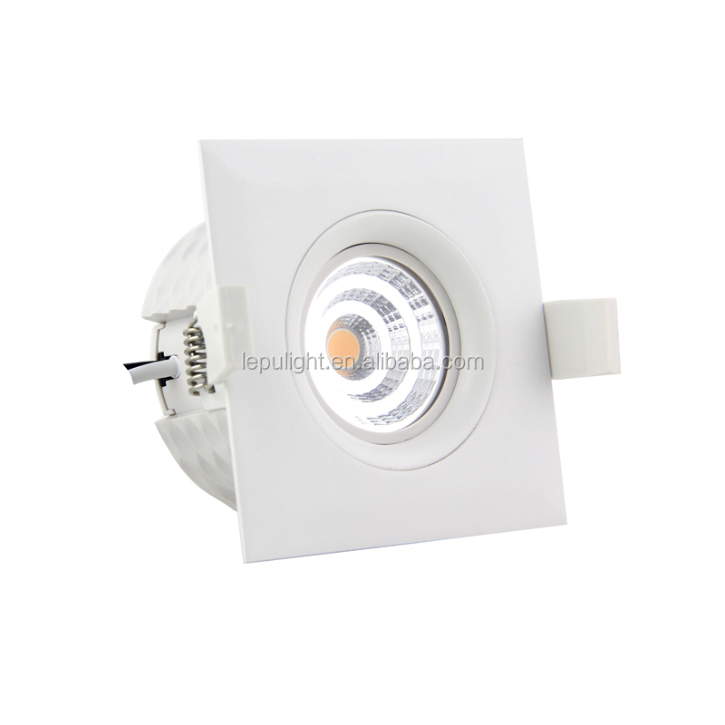 isolation install cob downlight led without downlight box 9watt super warm 2700k downlight led dimmable