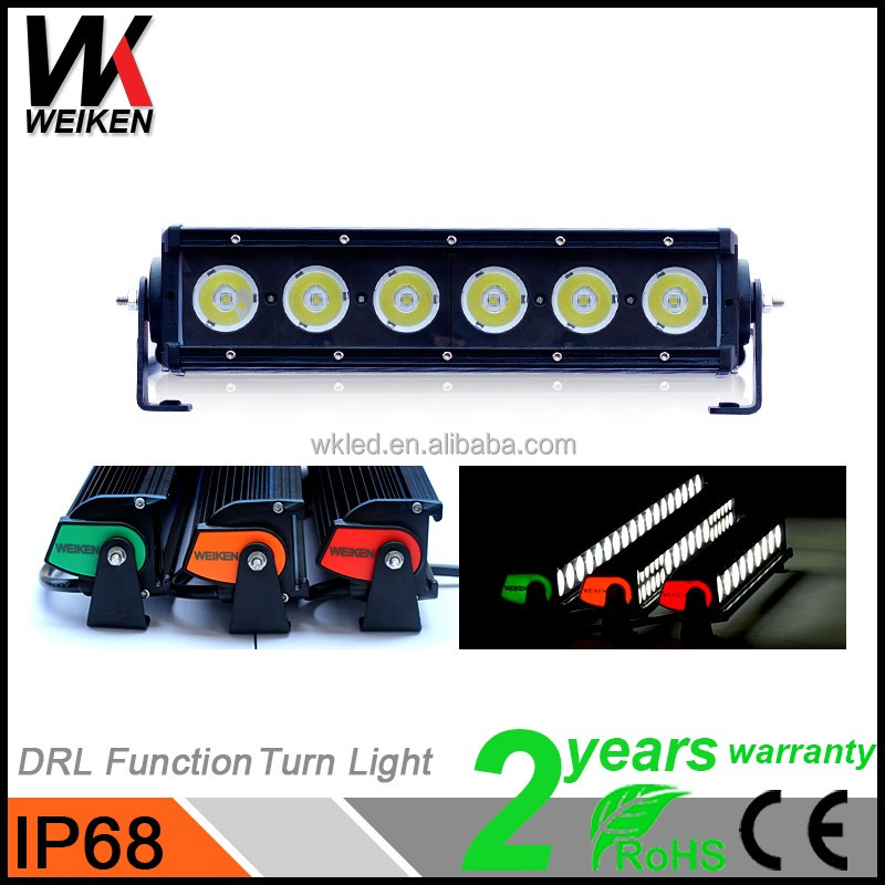 High Quality 60w led light bar Waterproof Bumper Cars Accessories Offroad Motorcycle Jeep Truck Mini Bars