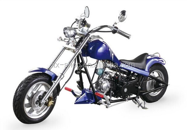 Cheap Personality Harley Prince motocycle 125cc mini harley electric chopper motocycle