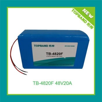 High quality electric motor lithium battery 48V20Ah+PCM TB-4820F