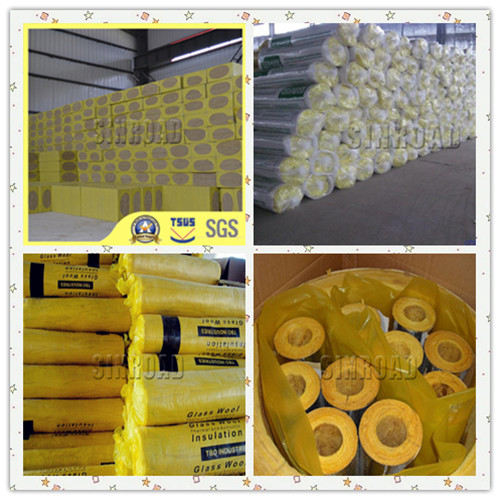 Rock Wool for thermal insulation of hot water pipes