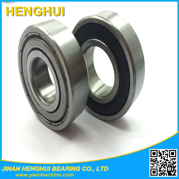 High performance deep groove ball bearing 16000 series dust cover 16005 16006