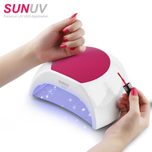 best selling products 2018 in amazon SUNUV SUN2C 48W UV nail LED lamp for salon Factory