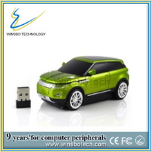 Computer Wireless Mouse Customized Car Shape and Logo/Car Shape Wireless Mouse