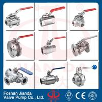 high quality 1pc iso 5211 mounting pad ball valve