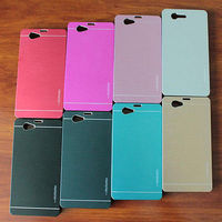 New Genuine MOTOMO INO Metal Polycarbonate Bumper Fitted Case For Sony Xperia Z2