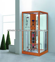 Luxury Bamboo steam shower room sauna wholesale infrared sauna K011