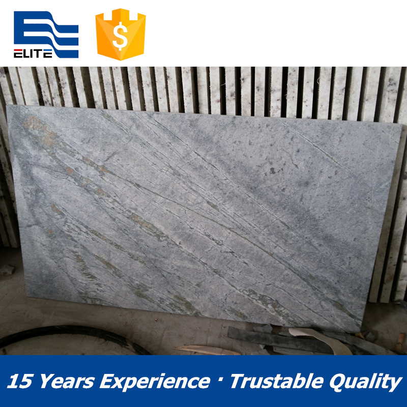 Natural quartzite Blue Moon stone slab and tiles