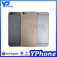 Mobile phone accessories full housing for iphone 6 original metal housing back cover replacement for iphone 6