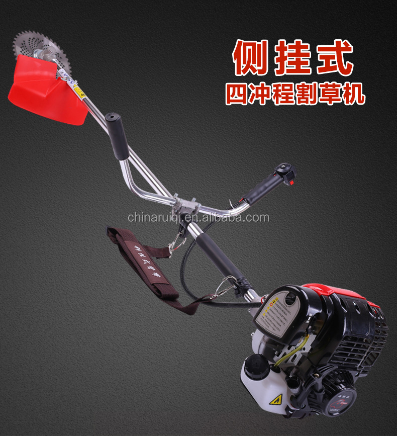Chinese high quality 4 stroke zongshen type 139 gas brush cutter line trimmer
