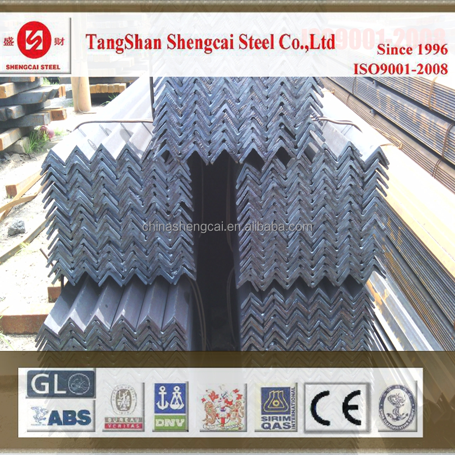 standard size steel angle bar supplied directly from factory