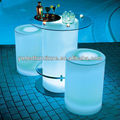 modern table bar furniture Resin material /led bar conuter furniture /commercial bar counters YM-LBT5252100