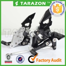 CNC adjustable motorcycle rearsets for KAWASAKI Ninja150