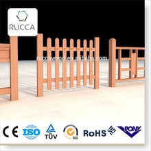 2016 WPC wood outdoor portable dog fence from Foshan China factory directly sale