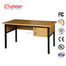 Commercial Office Furniture wood teacher desk with drawers