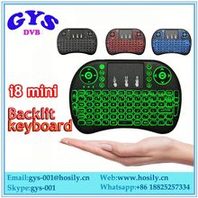 Slim keyboard mini keyboard rii i8 wireless keyboard for panasonic viera .lg.smart tv