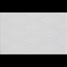 250x400 glazed ceramic marble and 3d wall tile with border and floor tile