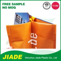 reusable promotional advertisement give away cheap price packaging non woven foldable bag