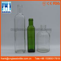 OEM Available Safely packing hair oil glass bottle