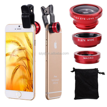 Universal Clip Camera Lens 8X Telescope Zoom Telephoto for iPhone 4 4S 5 5S 5C 6 Samsung Galaxy S S2 S3 S4 S5 Note 2 3 Mobile Ph