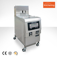 Fully Automatic Kfc Deep Frying Machine/ KFC French Fries Chicken Fryer