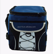 2015 cheap fashion picnic and travel single shoulder high quality insulated cooler bag
