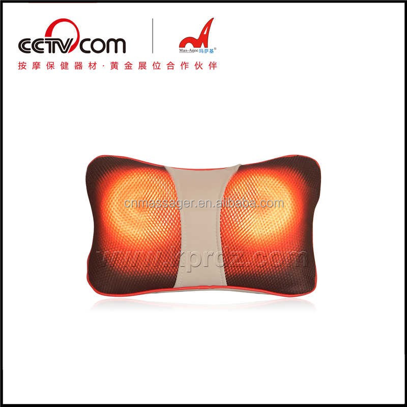 cute car use kneading shiastu multi-purpose massage pillow