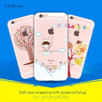 kingpos silicone phone case cover 2016 for cell phone for iPhone6 6s plus