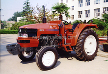 WEITUO 4WD farm tractor mini tractor with Backhoe