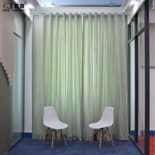 High-end beautiful window curtain with sheer curtain for home decor
