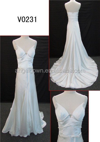 fat size beaded bodice sheath wedding dress sell in philippines