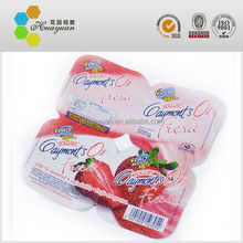 Heat Seal Lid / Heat Seal Pre-Cut Lid / Heat Sealing Yogurt Cup Aluminum Foil Lid