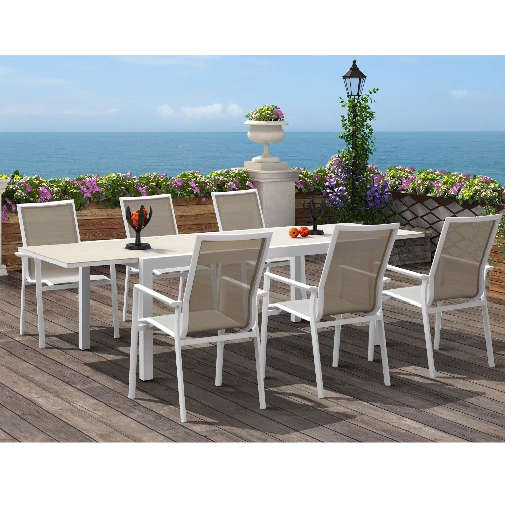 Momoda SN868 Superior Quality Restaurant/Hotel/Banquet/Dining/Conference outdoor aluminum Tables and chairs