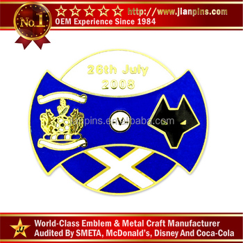 Wholesale High Quality Custom Cloisonne Emblem badge
