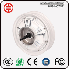 48V 10 Inch Electrical Brushless DC Motorcycle Hub Motor