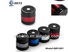 2013 New design hot selling bluetooth support TF card USB stick fashionable factory manufacture Mini speaker
