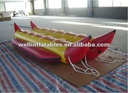 Super inflatable double banana boat for sale