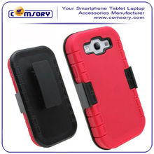 High Quality Combo Shell Phone Case & Holster with Kick-Stand & Belt Clip for samsung galaxy s3 i9300 Paypal Acceptable